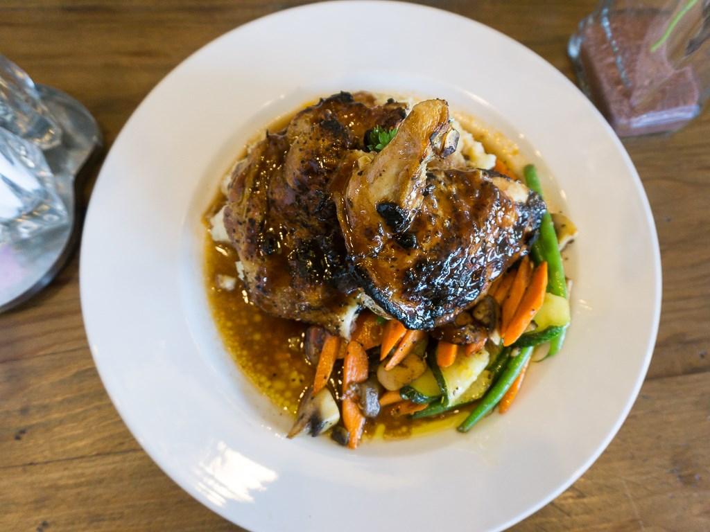 Carnegies - roast half chicken special