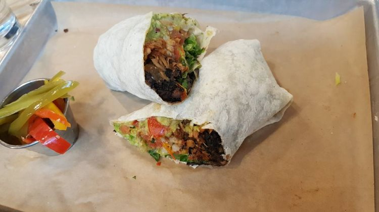 Bolt Cutter - burrito. Credit, SLC Vegan FB group.