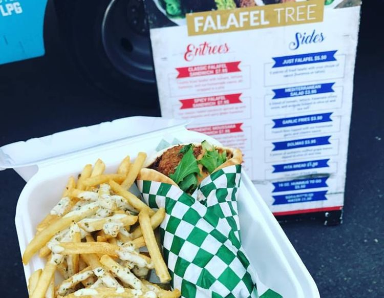 Falafel Tree - falafel and fries. Credit Amanda Rock