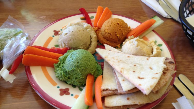 Frisch Compassionate Eatery - hummus and dips