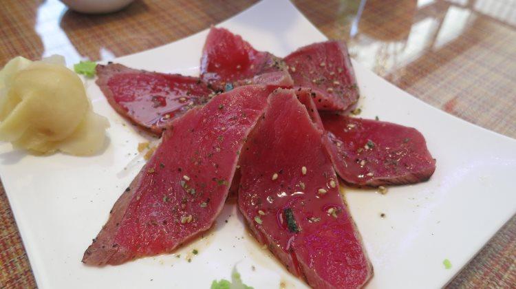 Itto Sushi - tuna tataki