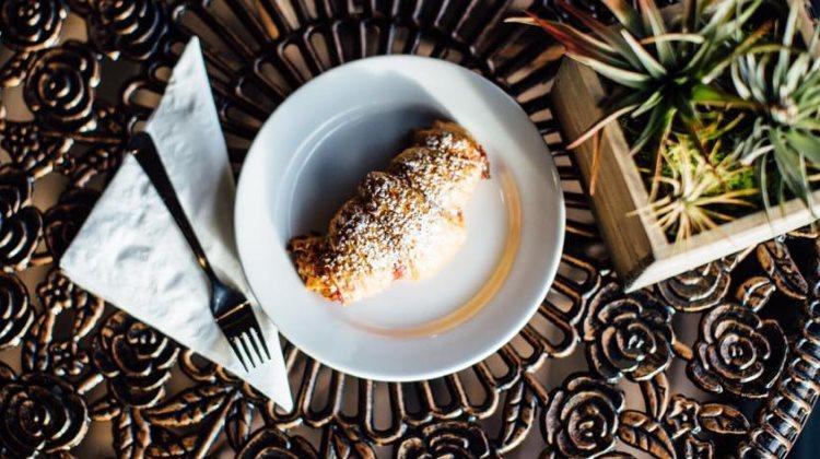 Passion Flour Patisserie - croissant aux amandes. Credit Passion Flour
