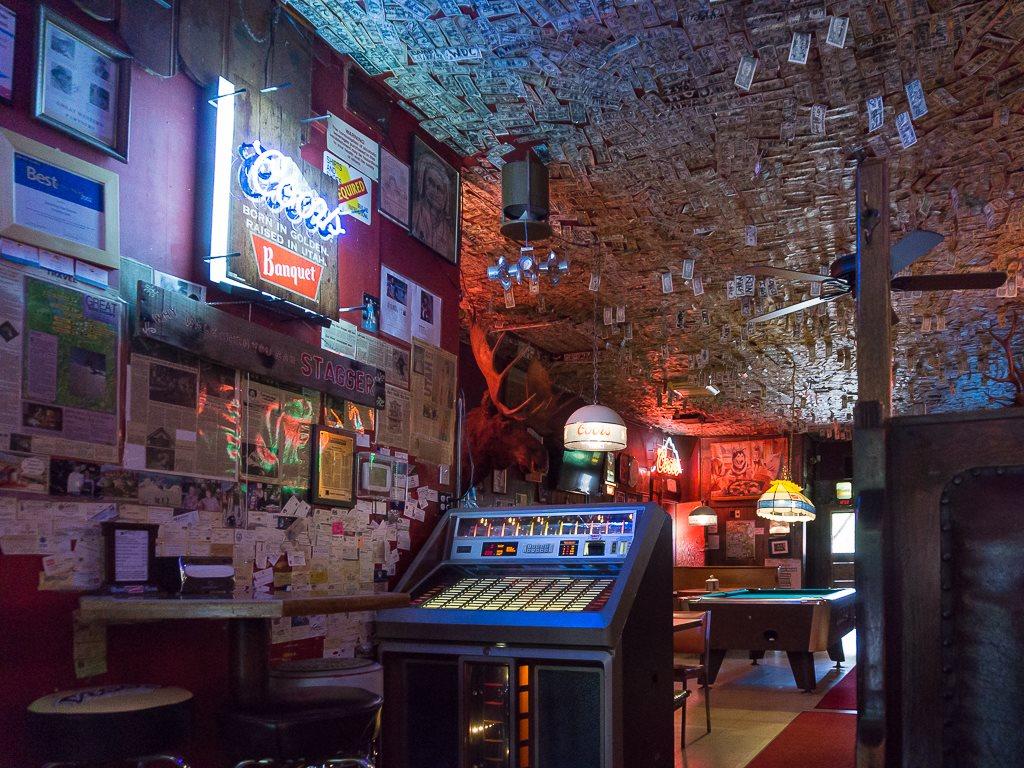 Shooting Star Saloon - interior