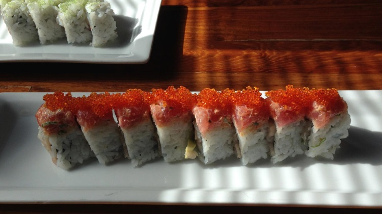 Takashi - maki sushi. Credit Heather L. King