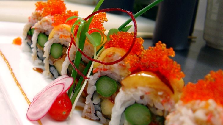 Tona Sushi - creative sushi. Credit, Tona