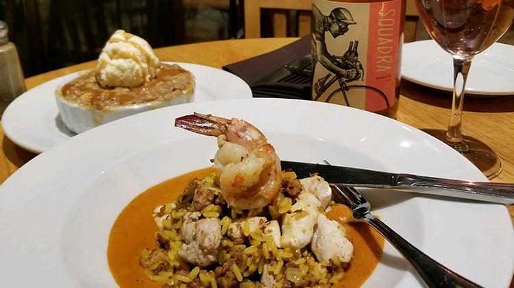 Oasis Cafe - seafood paella