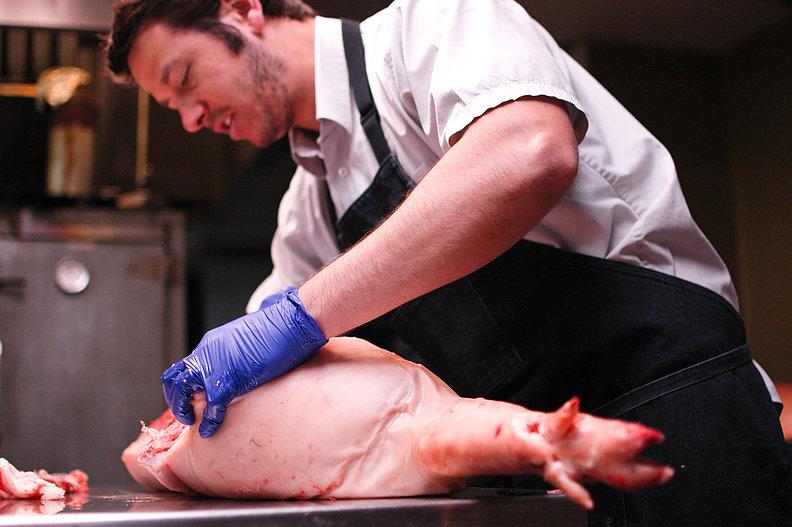 Philip Grubisa of Beltex Meats