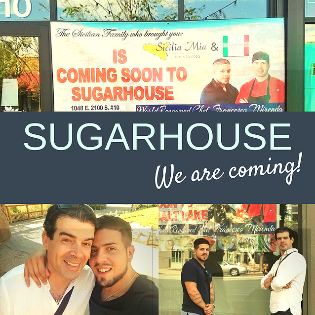 Sicilia Mia Sugar House - coming soon