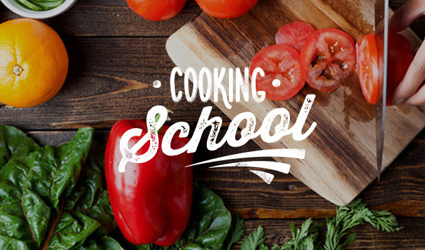 Harmons Cooking School logo