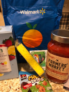 Walmart - free gift bag