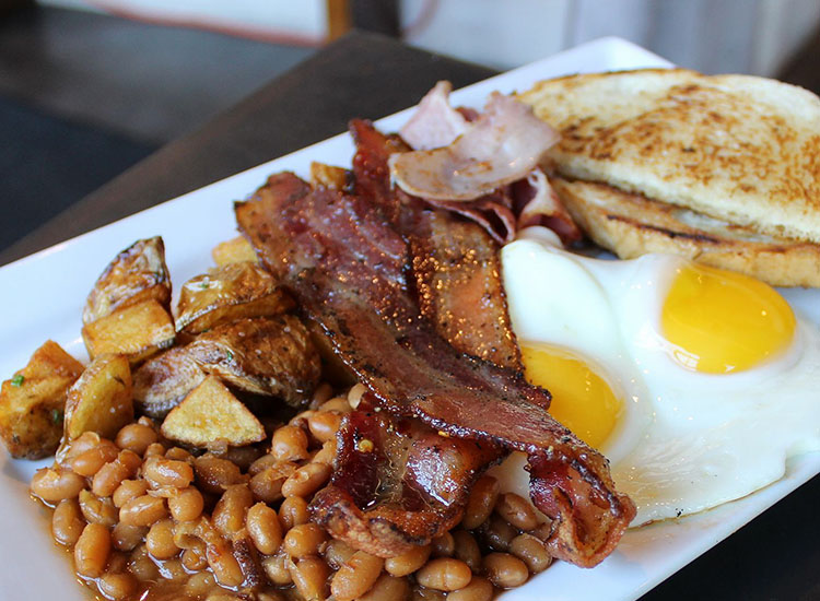 Avenues Proper - proper breakfast