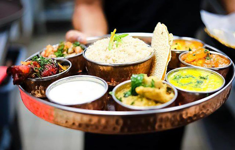 Saffron Valley Sugar House - thali