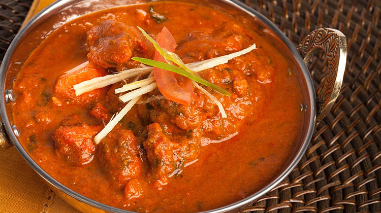 Saffron Valley - lamb vindaloo