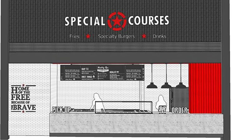Special Courses exterior mockup