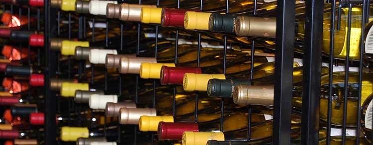 Wine at DABC store