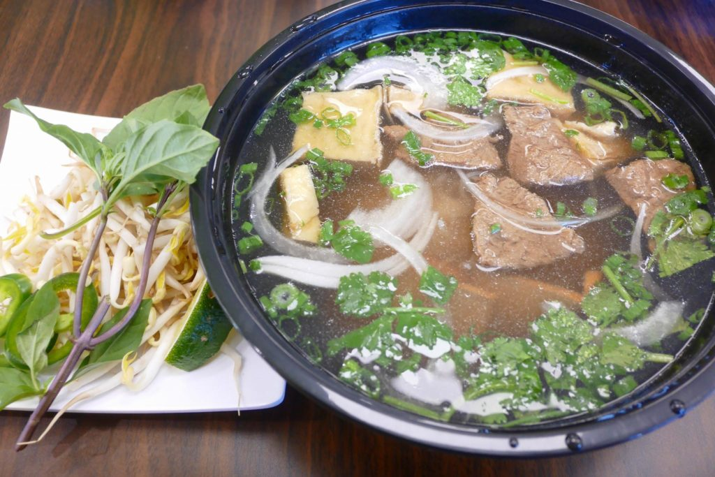 Vegan Bowl - house special pho
