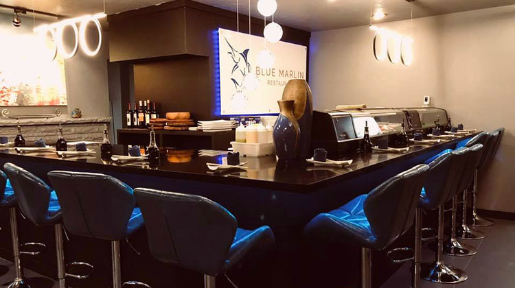 Blue Marlin sushi bar. Credit Blue Marlin