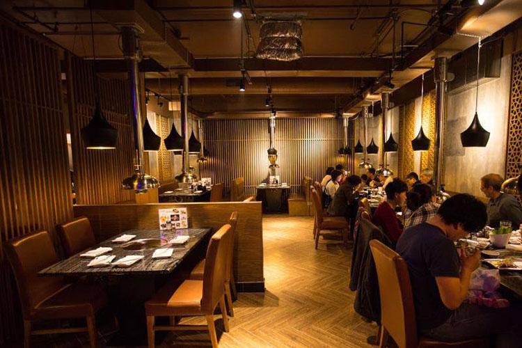 Ombu Grill interior. Credit Ombu Grill