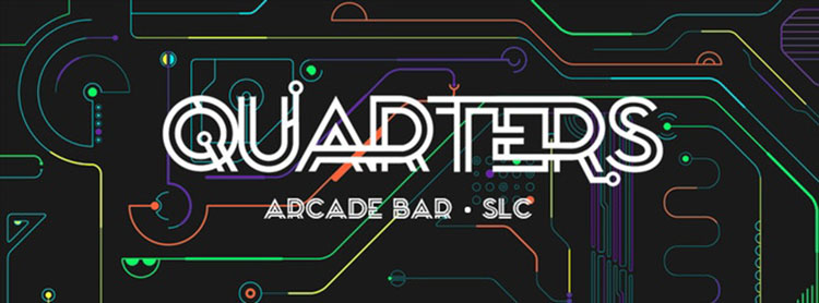 Quarters Arcade Bar logo