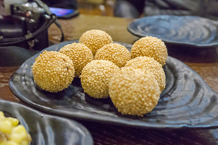 Sesame balls from old CY noodles location