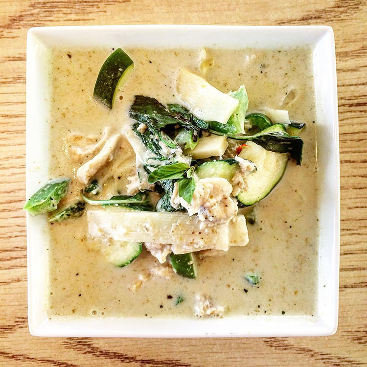 Thai Spoon - Thai green curry. Credit Joshua Shimizu