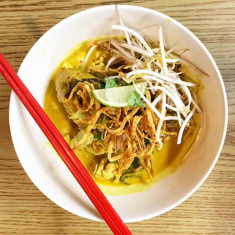 Thai Spoon - khao soi. Credit Joshua Shimizu
