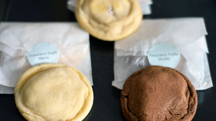 Cookies in the mail via Cheeky Rascals Cookies