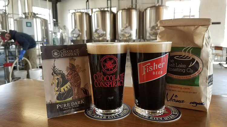 Fisher Brewing stout
