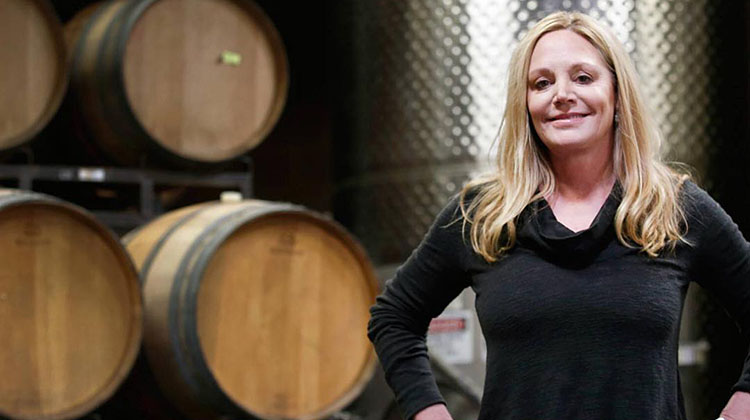 Winemaker Susie Selby