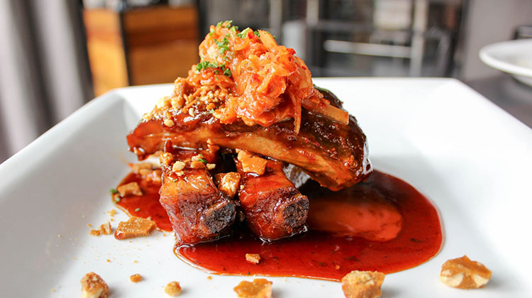 Avenues Proper - General Tsos pork ribs (Avenues Proper)
