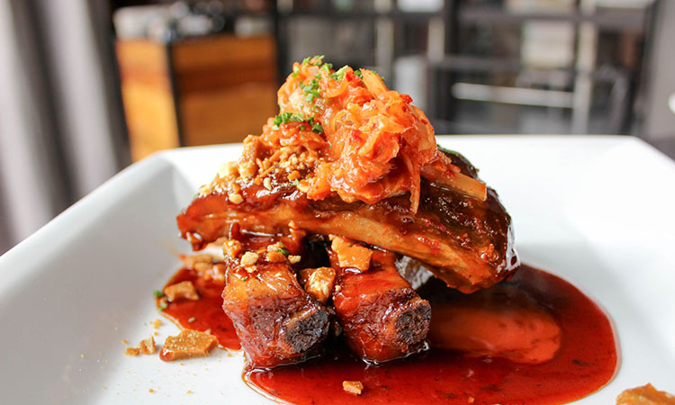 Avenues Proper - general tso's pork ribs (Avenues Proper)