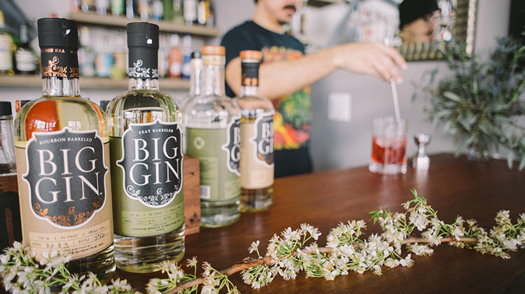 Big Gin coming to Under Current Bar soon