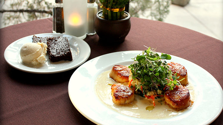 Oasis Cafe - soy scallops (Oasis Cafe)