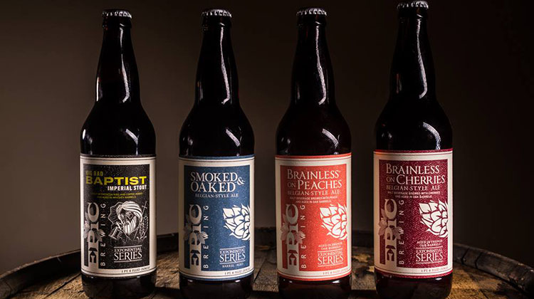 Selection of Epic Brewing beers (Epic)