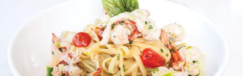 Stanza - lobster pasta