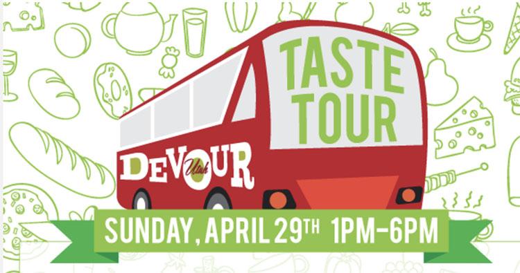 Devour Taste Tour logo