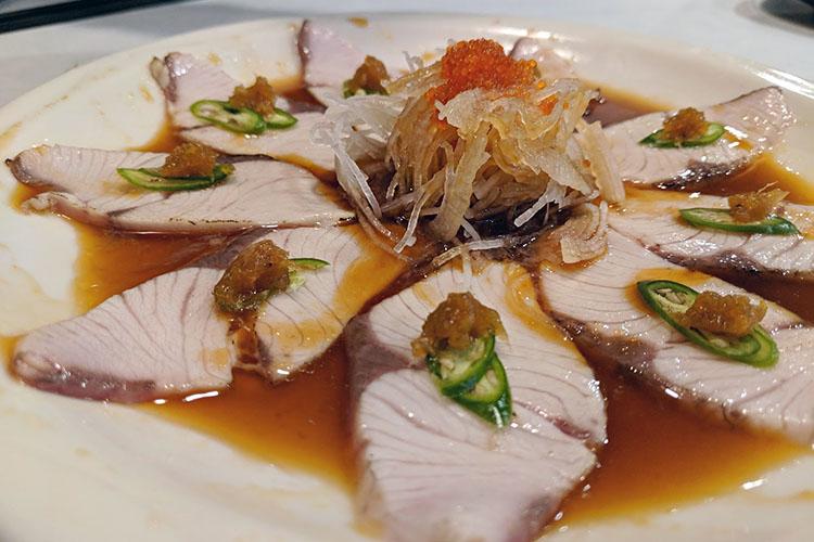 Hamachi - tuna tataki (Asad Rauf)
