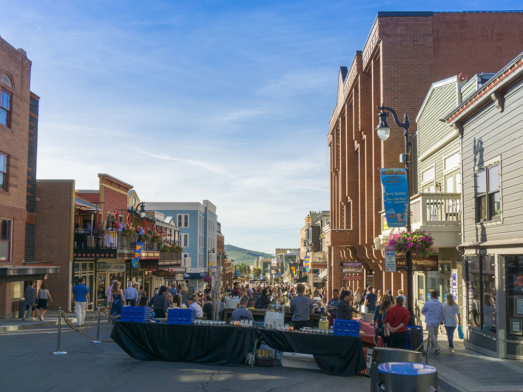 MaIn Street Park City for Savor The Summit 2017