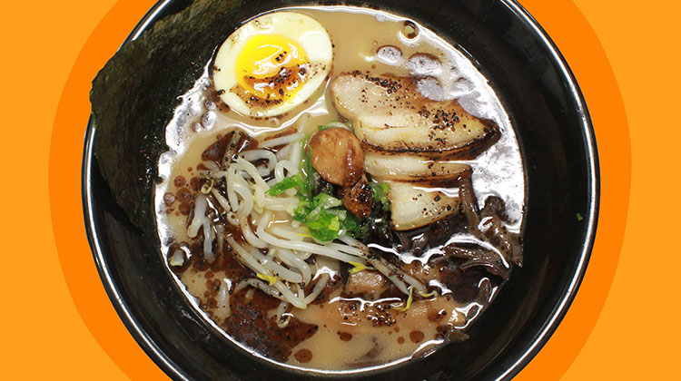 Ramen 930 - black garlic pork ramen (Ramen 930)