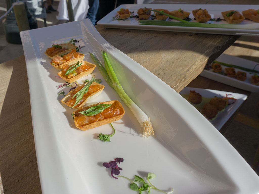 Savor The Summit 2017 - Cuisine Unlimited appetizer selection