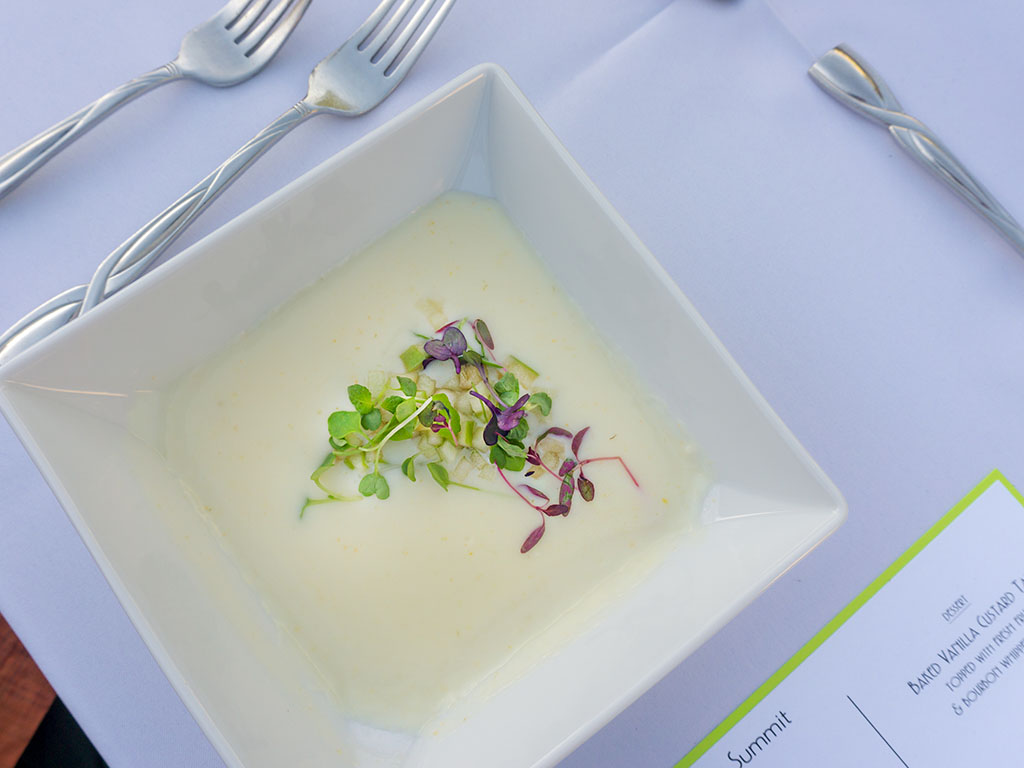 Savor The Summit 2017 - Cuisine Unlimited cream of brie soup