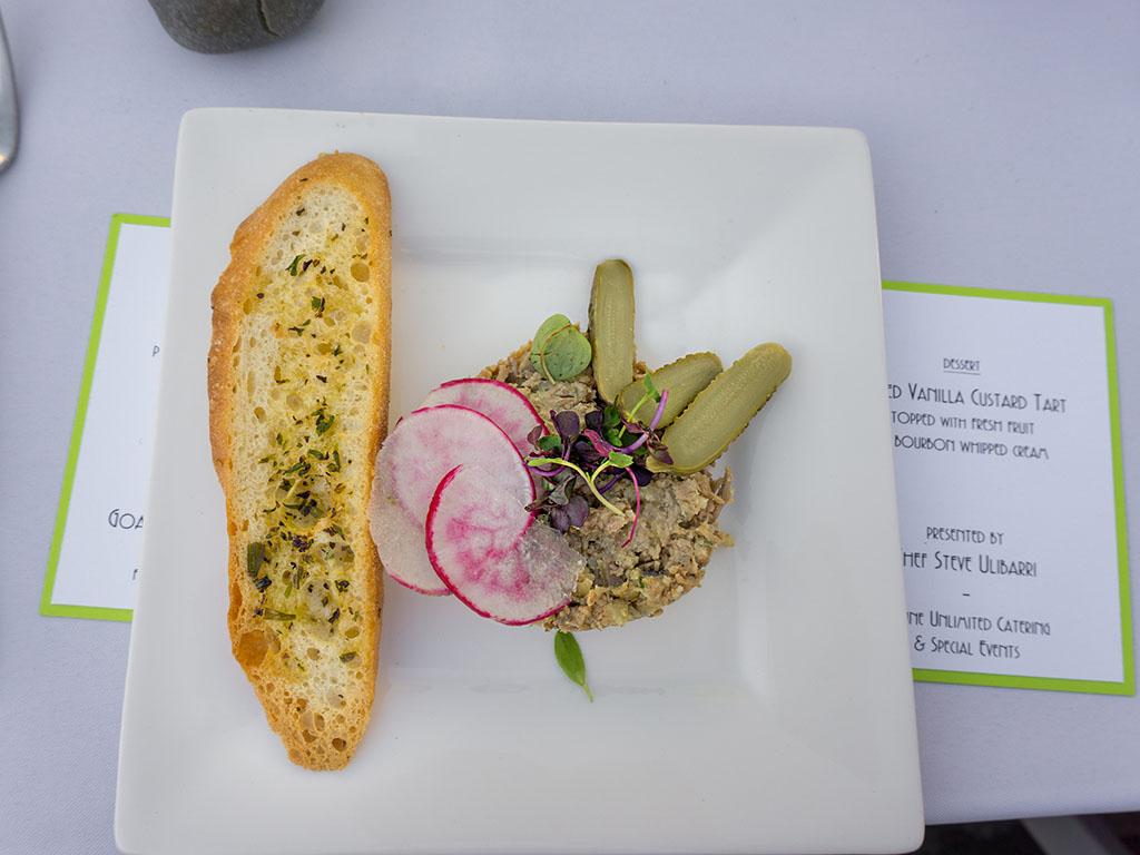 Savor The Summit 2017 - Cuisine Unlimited duck rillette