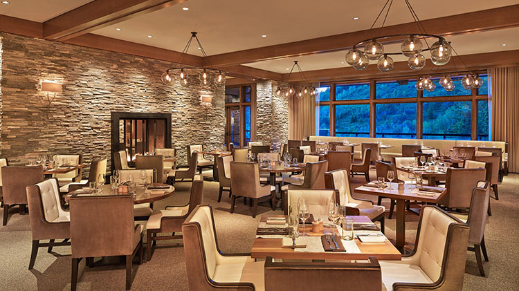 J And G Grill dining room at St Regis Deer Valley (J And G Grill)