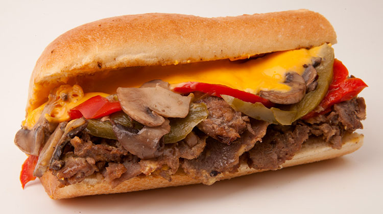 Moochie's cheesesteak (Moochie's)