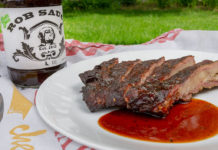 Rob Sauce with ribs