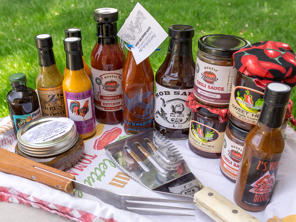 Utah sauces for the BBQ season