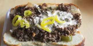 Fatboy Phillies - Philly cheesesteak (Redneck Food Rambles)