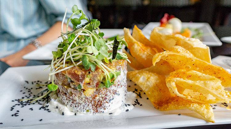 Bambara - Yellowfin tuna poke off regular menu