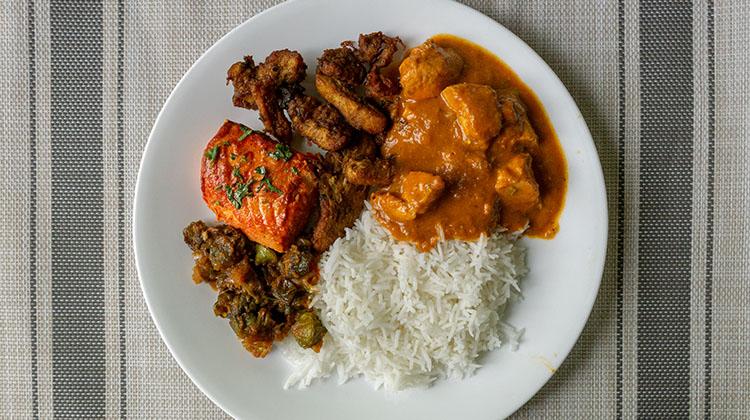 Cuisine from Saffron Bistro