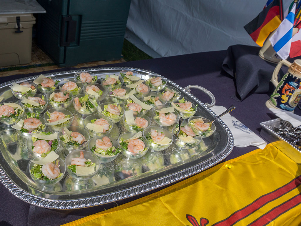 Taste Of The Wasatch 2017 - Blue Boar Inn poached shrimp